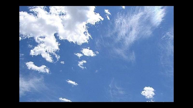 Meteo, passaggio di temporali lunedì, poi sole e caldo