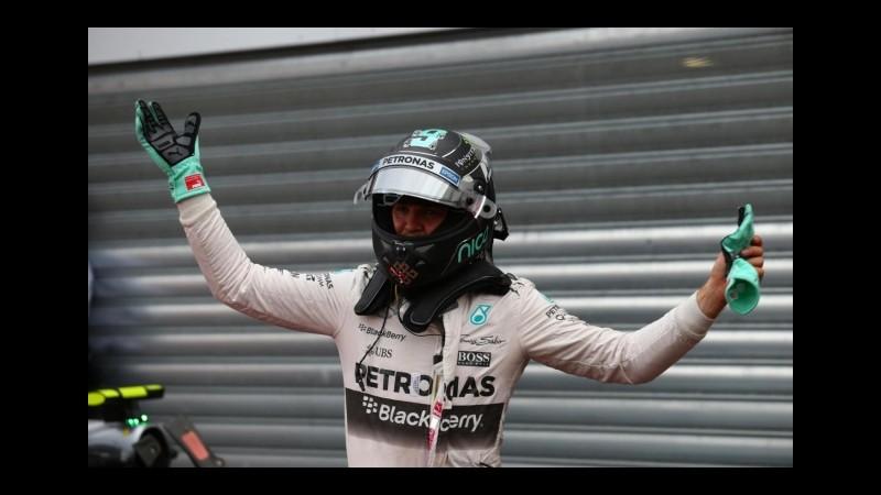 Gp Belgio, Nico Rosberg domina anche le seconde libere
