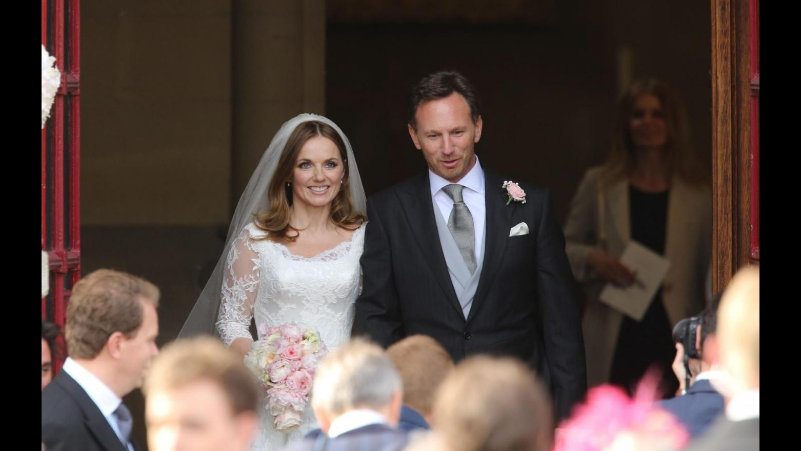 Geri Halliwell a nozze con team manager Red Bull Christian Horner