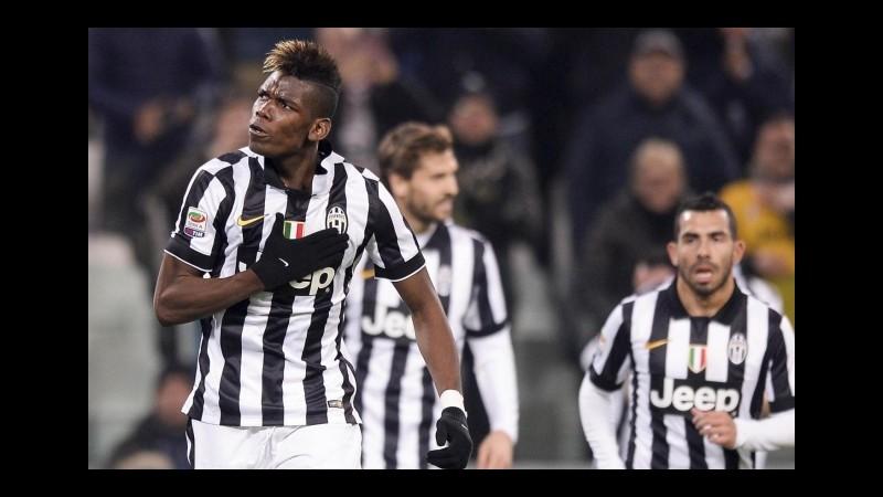 Juventus: rientrano gli azzurri, Pogba e Mandzukic