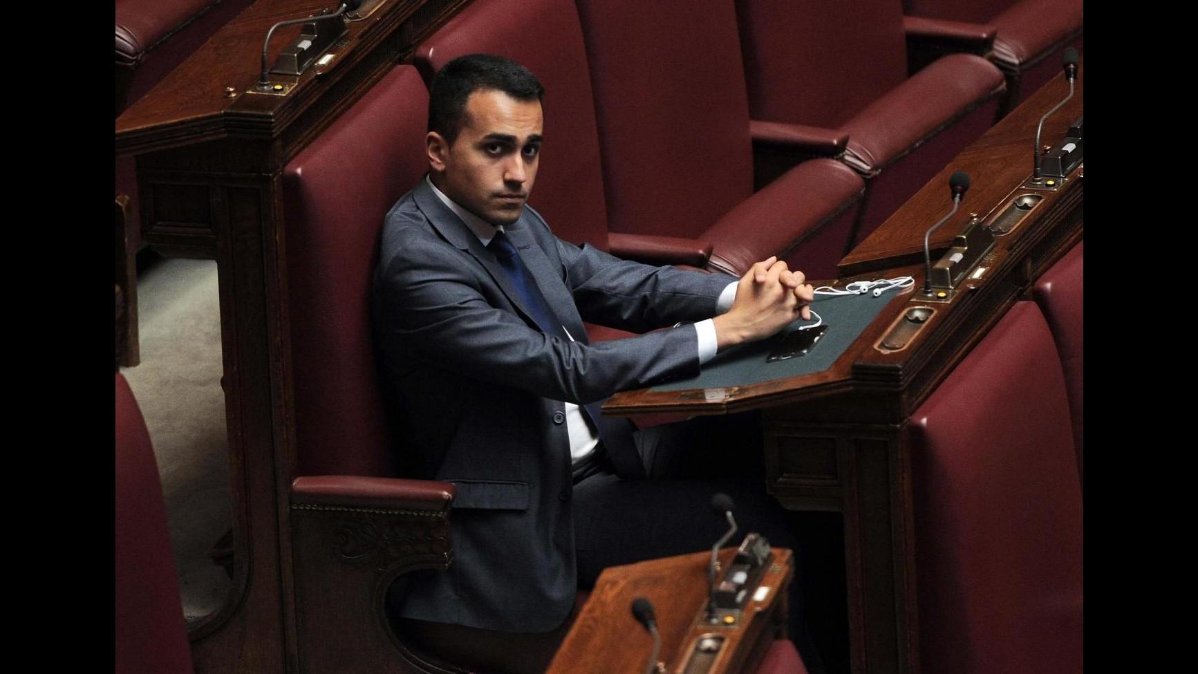 Italicum, Di Maio: Opera incompiuta come l'Expo