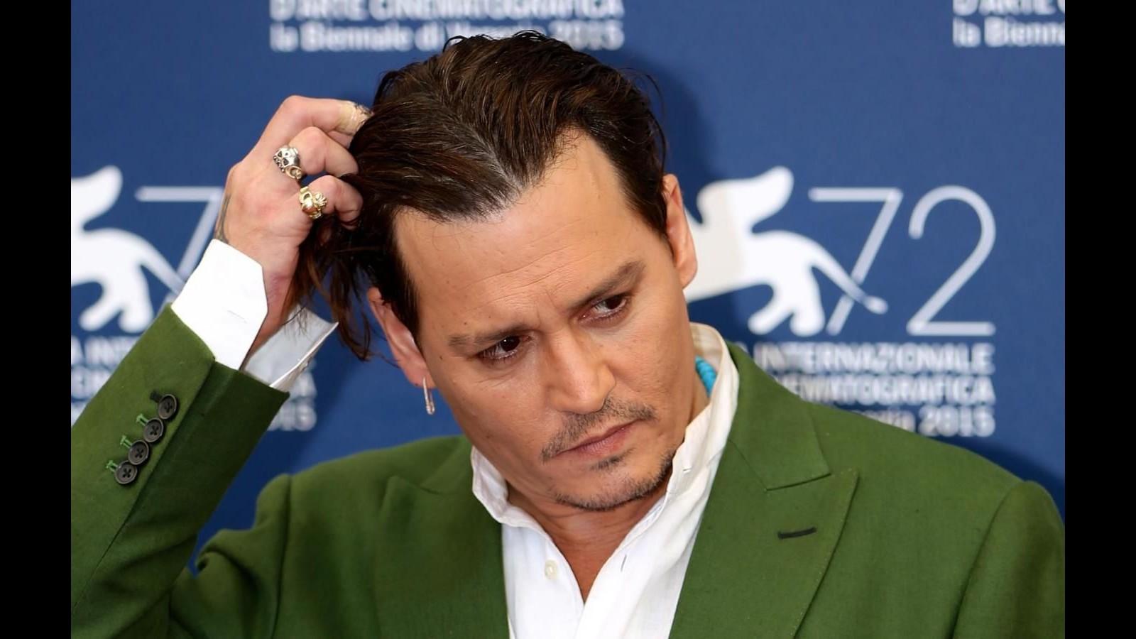 Venezia 72, Johnny Depp: I miei fan sono i miei capi