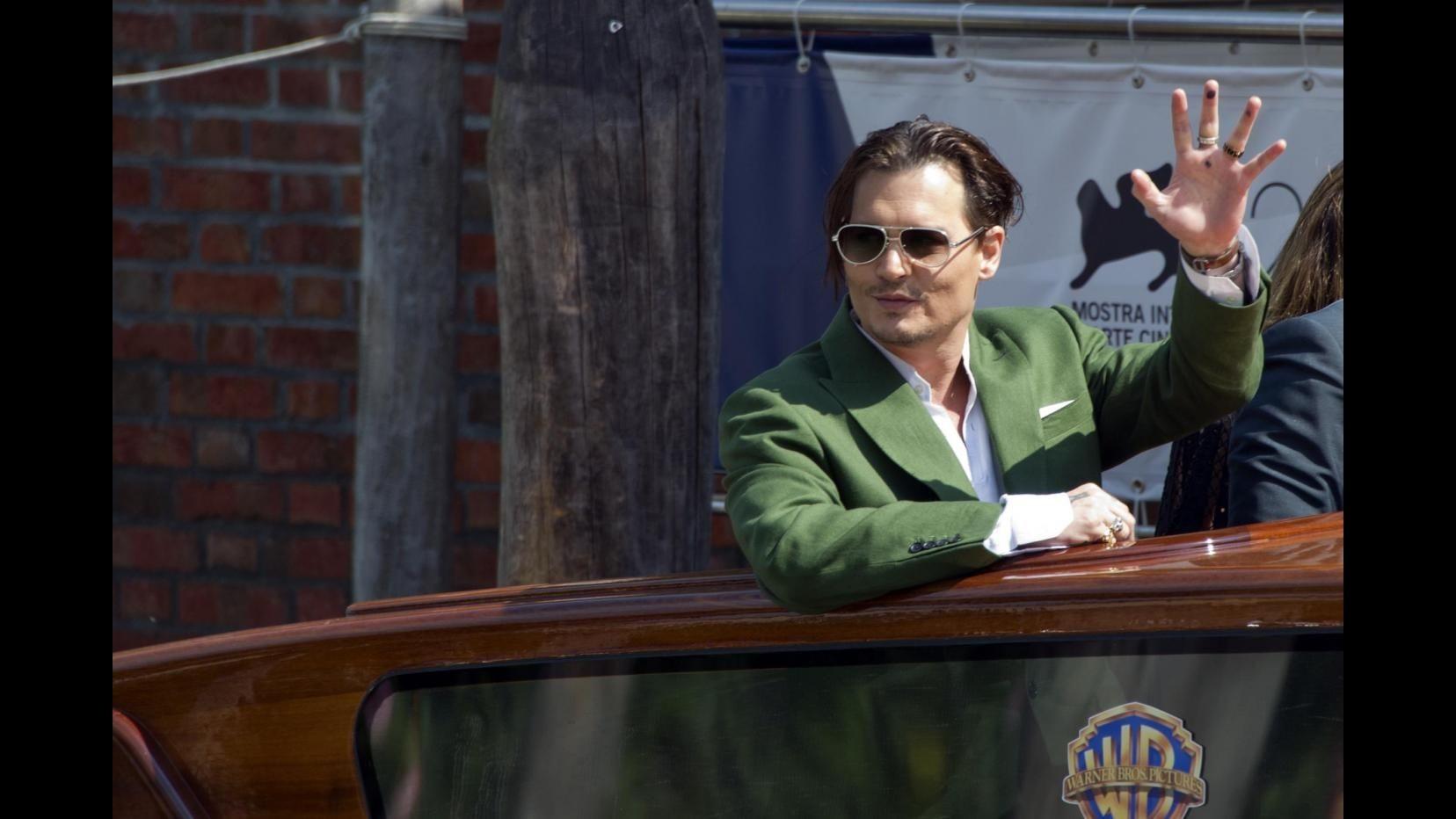 Venezia 72, oggi è il giorno di Johnny Depp e 'Black Mass'