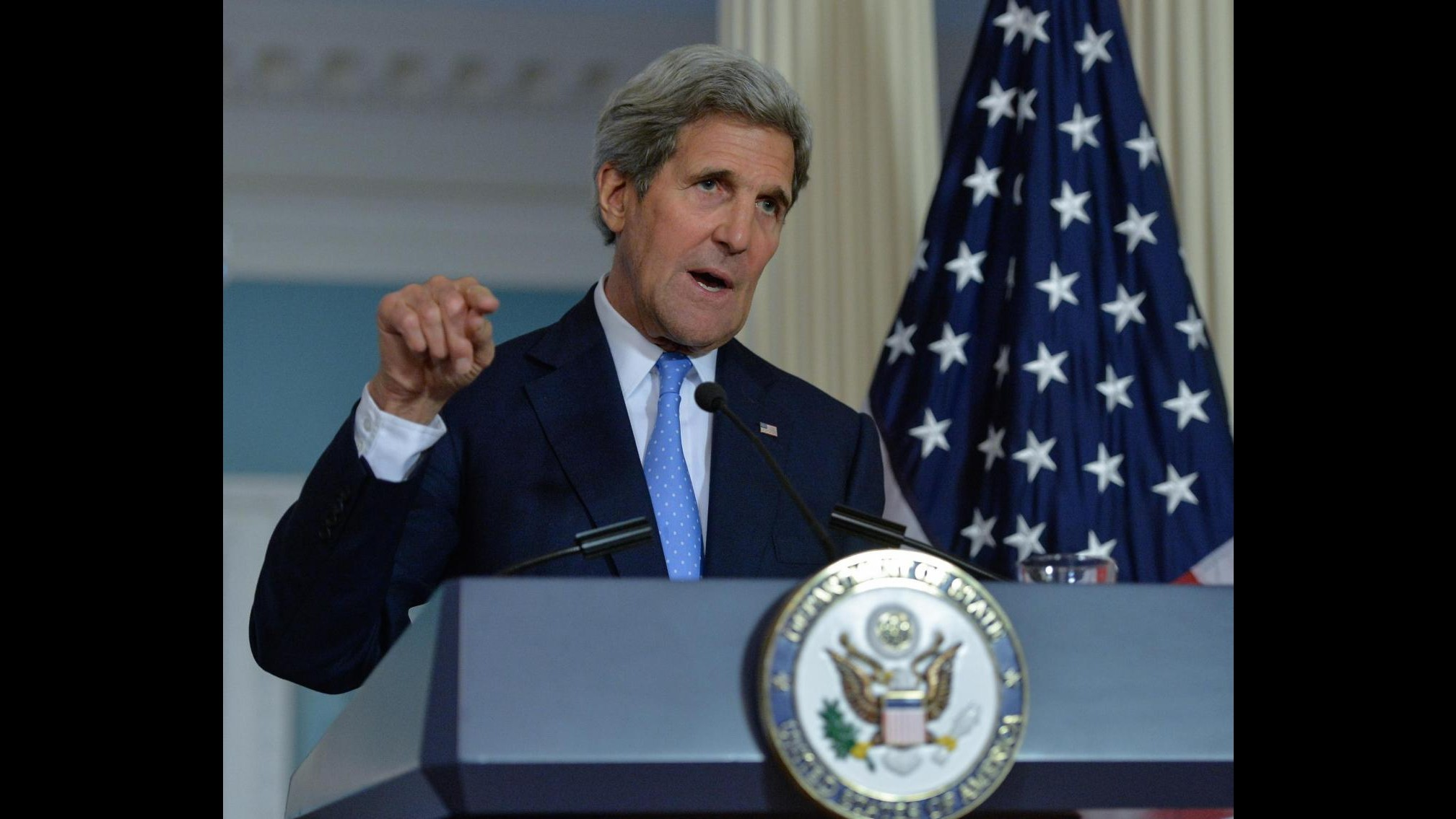 Usa, Kerry operato con successo dopo frattura gamba: domani già in piedi