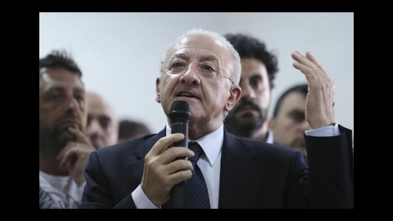 De Luca denuncia  Bindi per diffamazione, la presidente dell'Antimafia: Un atto strumentale