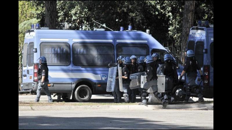 Roma-Juventus: polizia presidia Olimpico e caselli autostradali