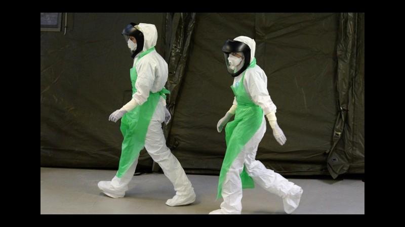 Ebola, infermiere italiano infettato è vigile e senza febbre