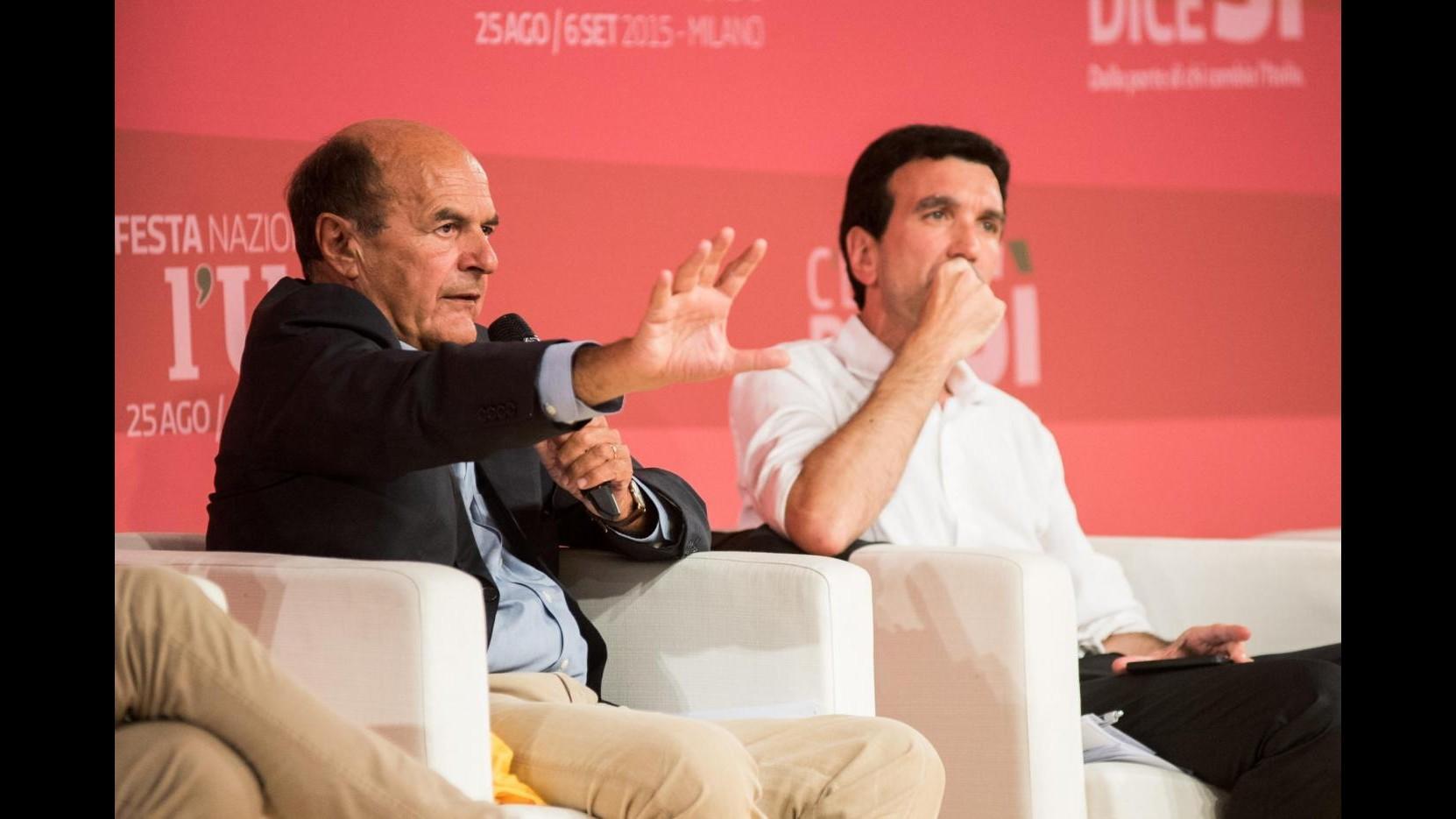 Riforme, Bersani: Bene aperture, agire su articolo 2