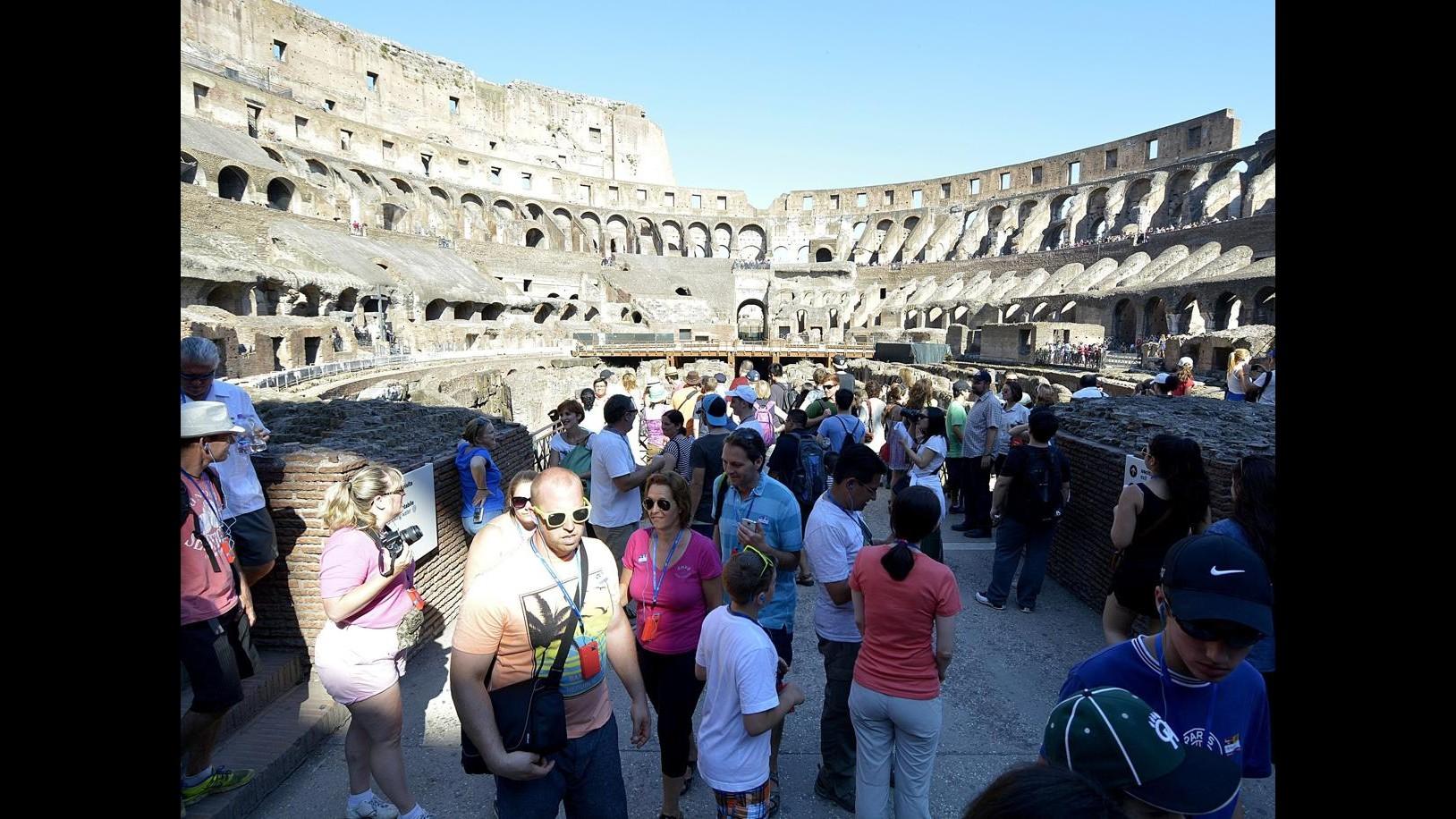 Colosseo, Bianchi (Ap): Diritti sono anche dei turisti e dei romani