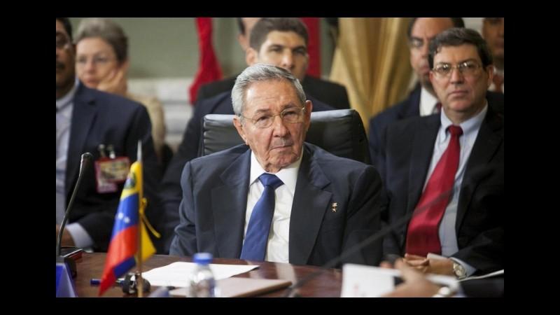 Cuba-Usa, L'Avana rimossa dalla lista degli stati sponsor del terrorismo