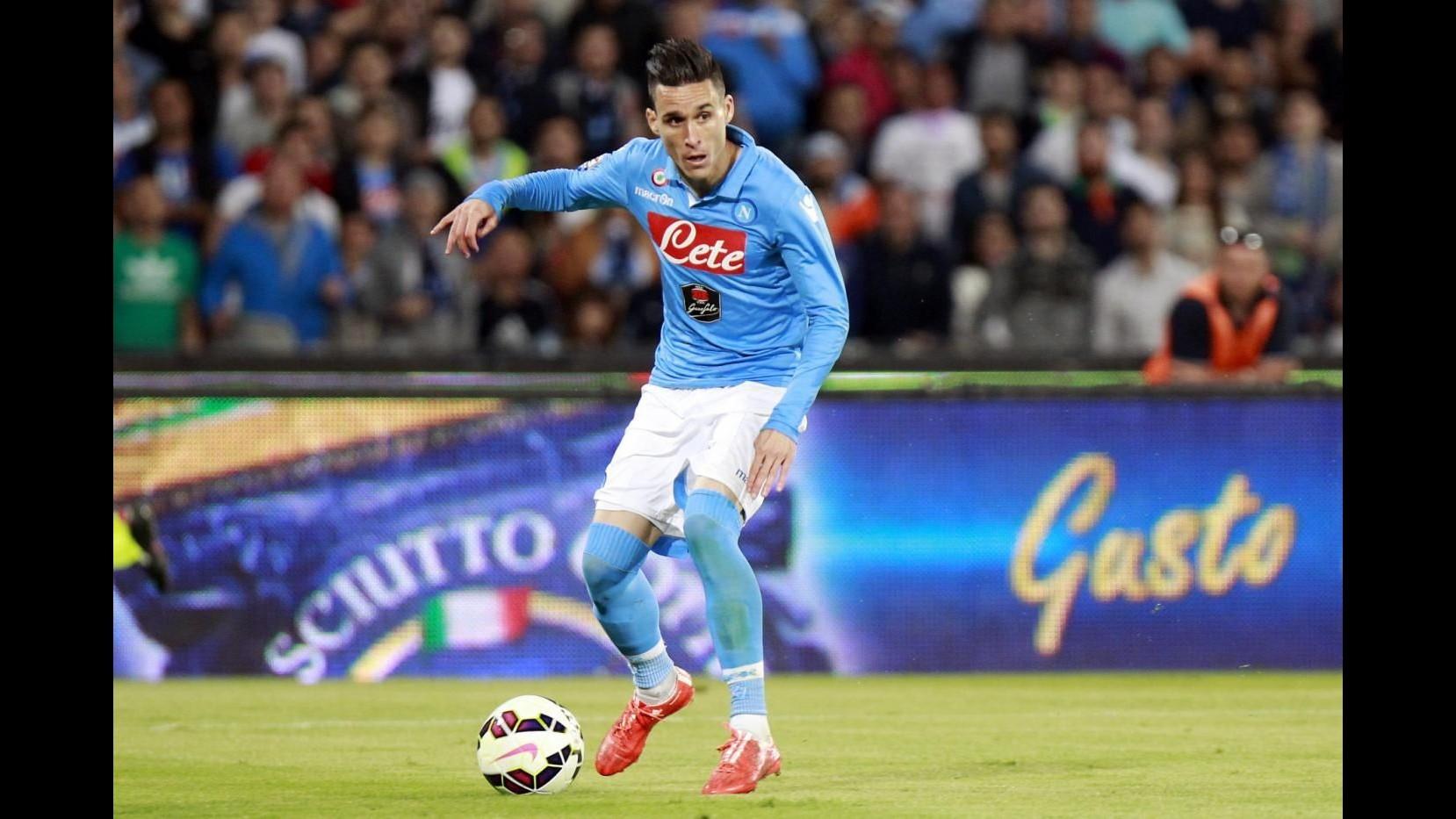 Europa League, Napoli travolge Bruges 5-0: super Callejon