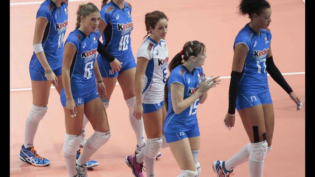 Volley, per Nazionale femminile doppio impegno con Germania a Napoli