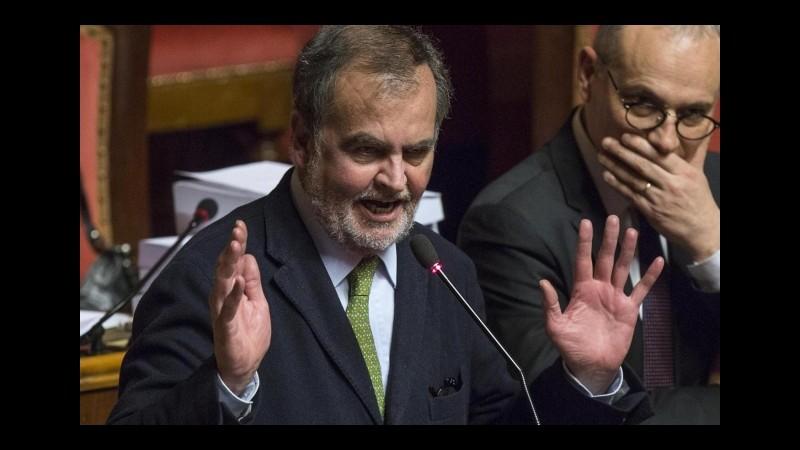 Riforme, Calderoli: Stiamo creando presupporto per ritorno fascismo