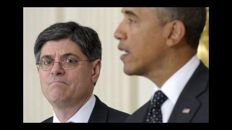 """Crisi greca, gli Usa: """"No a rischi calcolati, ognuno faccia passo indietro"""""""