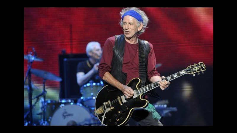 Keith Richards: I Rolling Stones incideranno un nuovo album