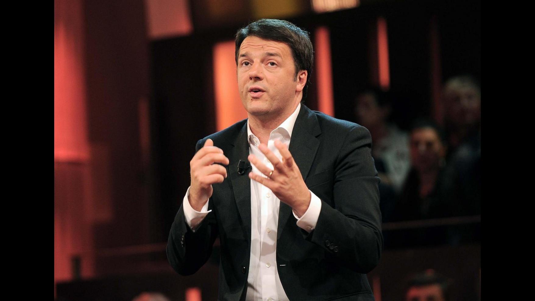 Regionali, Renzi: Pd non ha impresentabili in lista