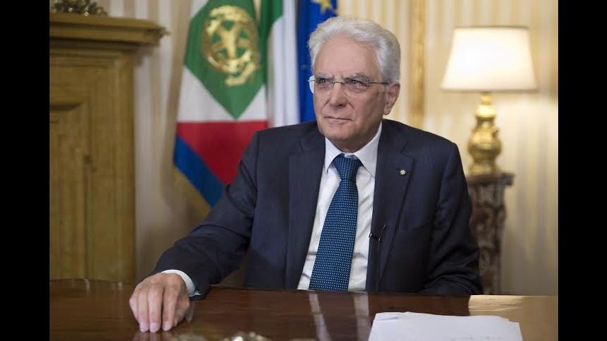 Ue, Mattarella: E' tempo di politiche e istituzioni comuni