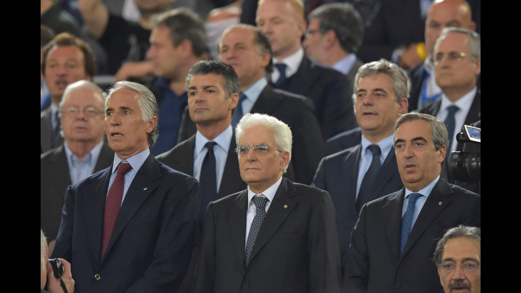 Calcioscommesse, Mattarella: Procedere rapidamente e con severità