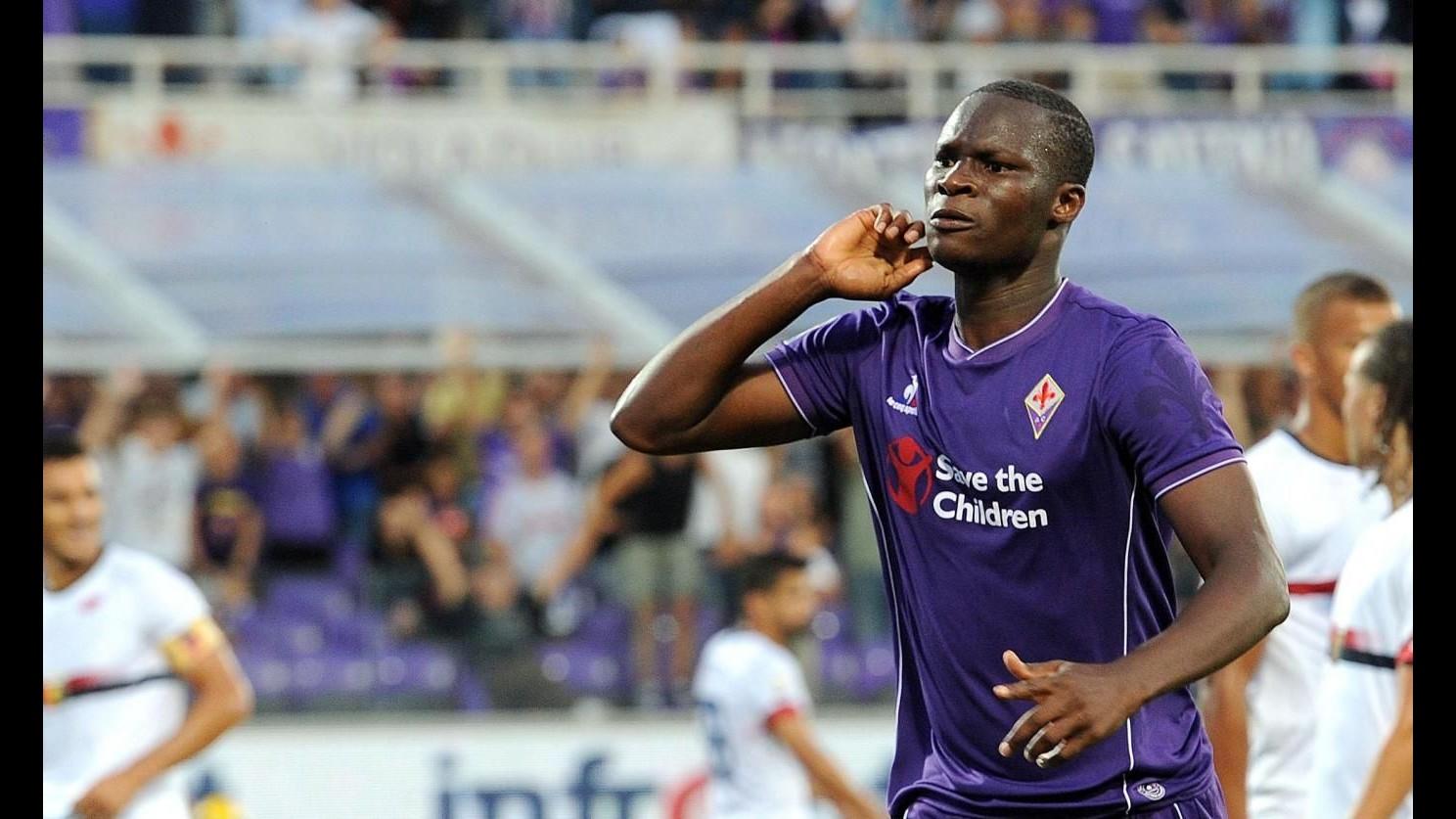 Fiorentina fatica e batte Genoa 1-0 con Babacar