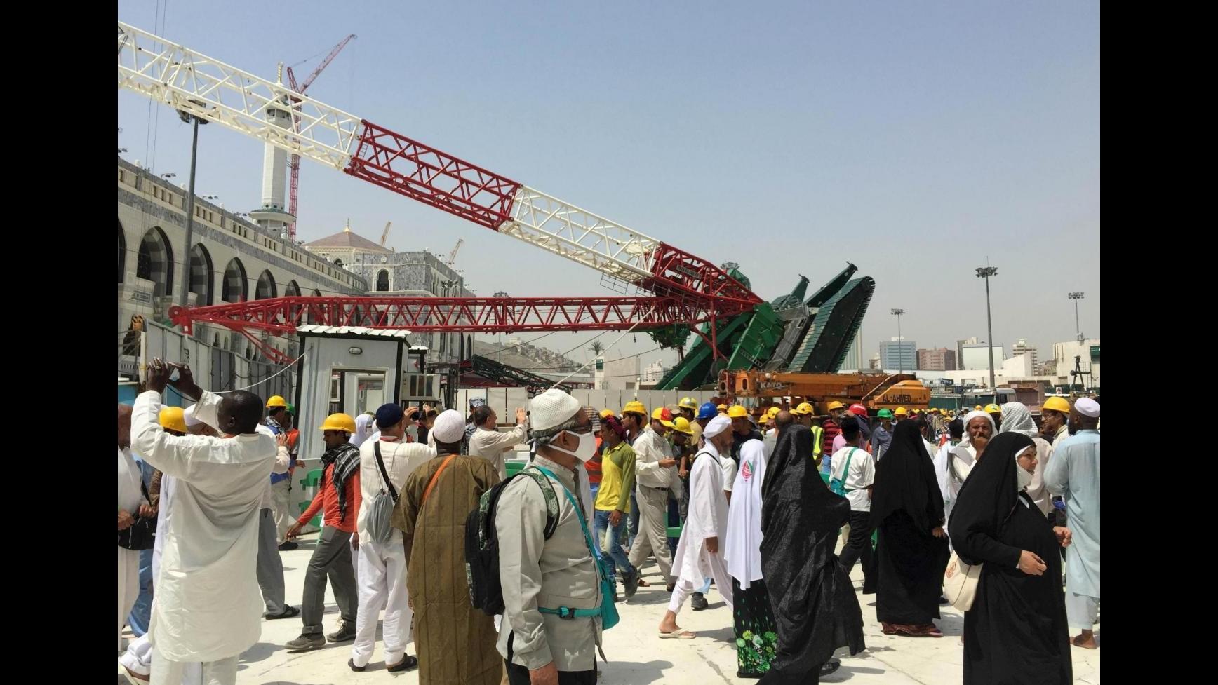 Arabia Saudita, strage alla Mecca: i morti salgono a 107, i feriti 238