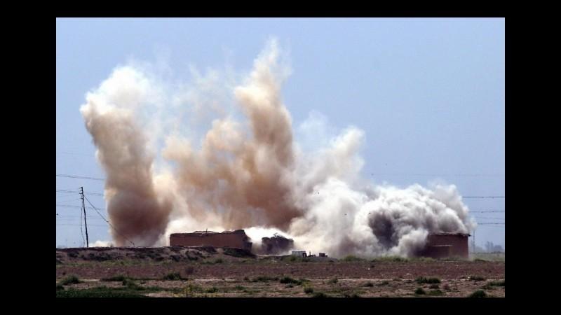 Attacchi aerei  turchi contro Pkk in nord Iraq: uccisi 60 militanti