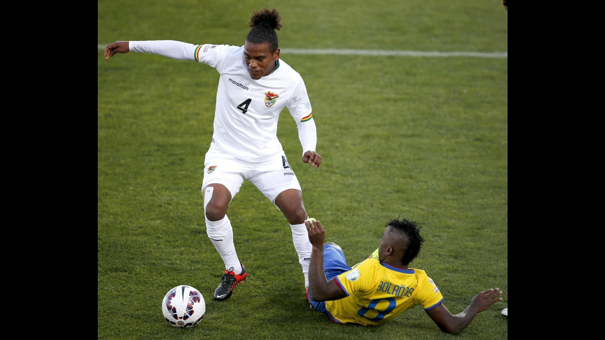 Coppa America: La Bolivia batte l' Ecuador 3-2 e vola in classifica