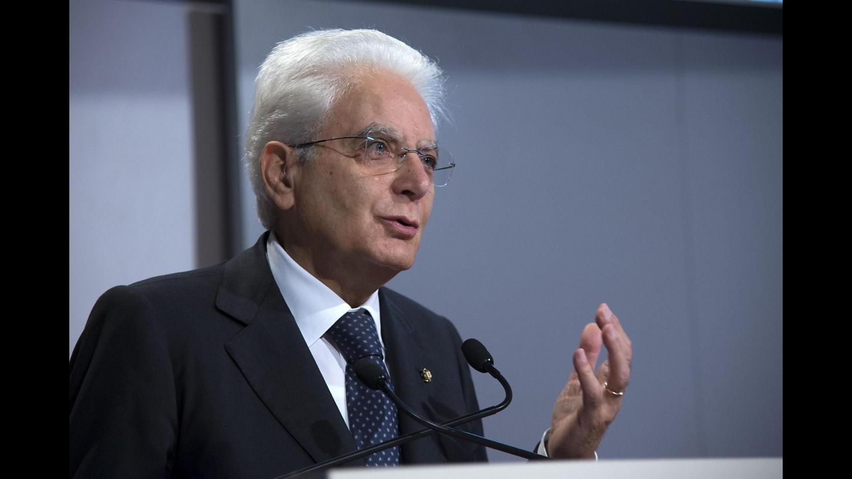 Napoli, il presidente Mattarella a Ponticelli per l'inaugurazione dell'anno scolastico