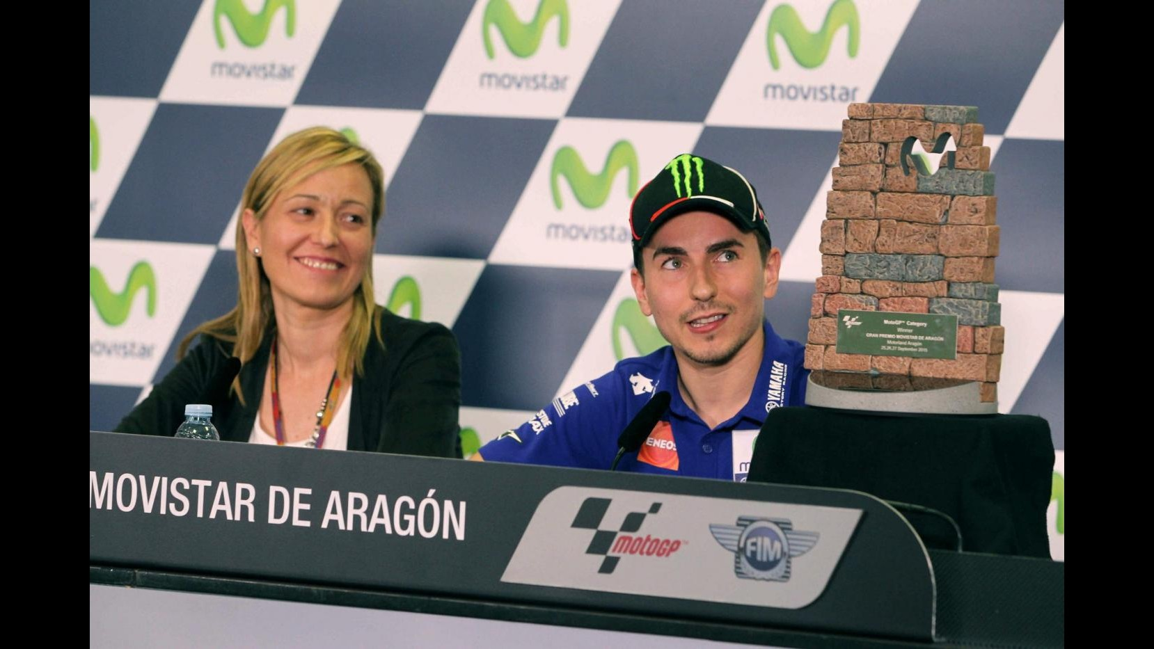 MotoGp, Aragon: Lorenzo trionfa davanti a Pedrosa, terzo Rossi