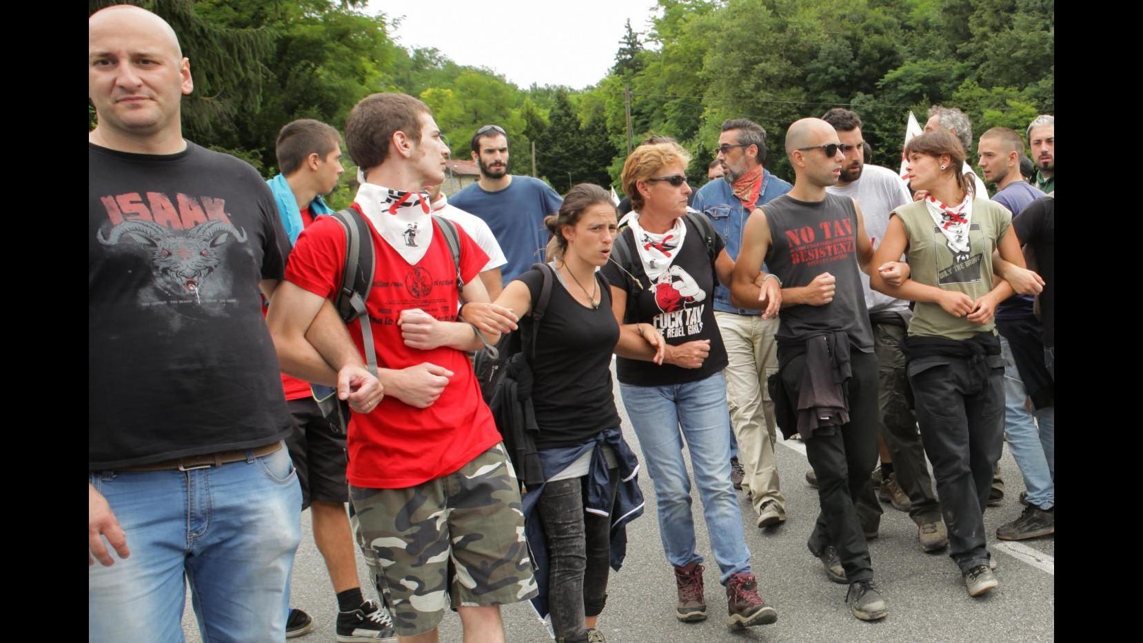 No Tav, attivisti occupano cantiere Terzo Valico nell'alessandrino