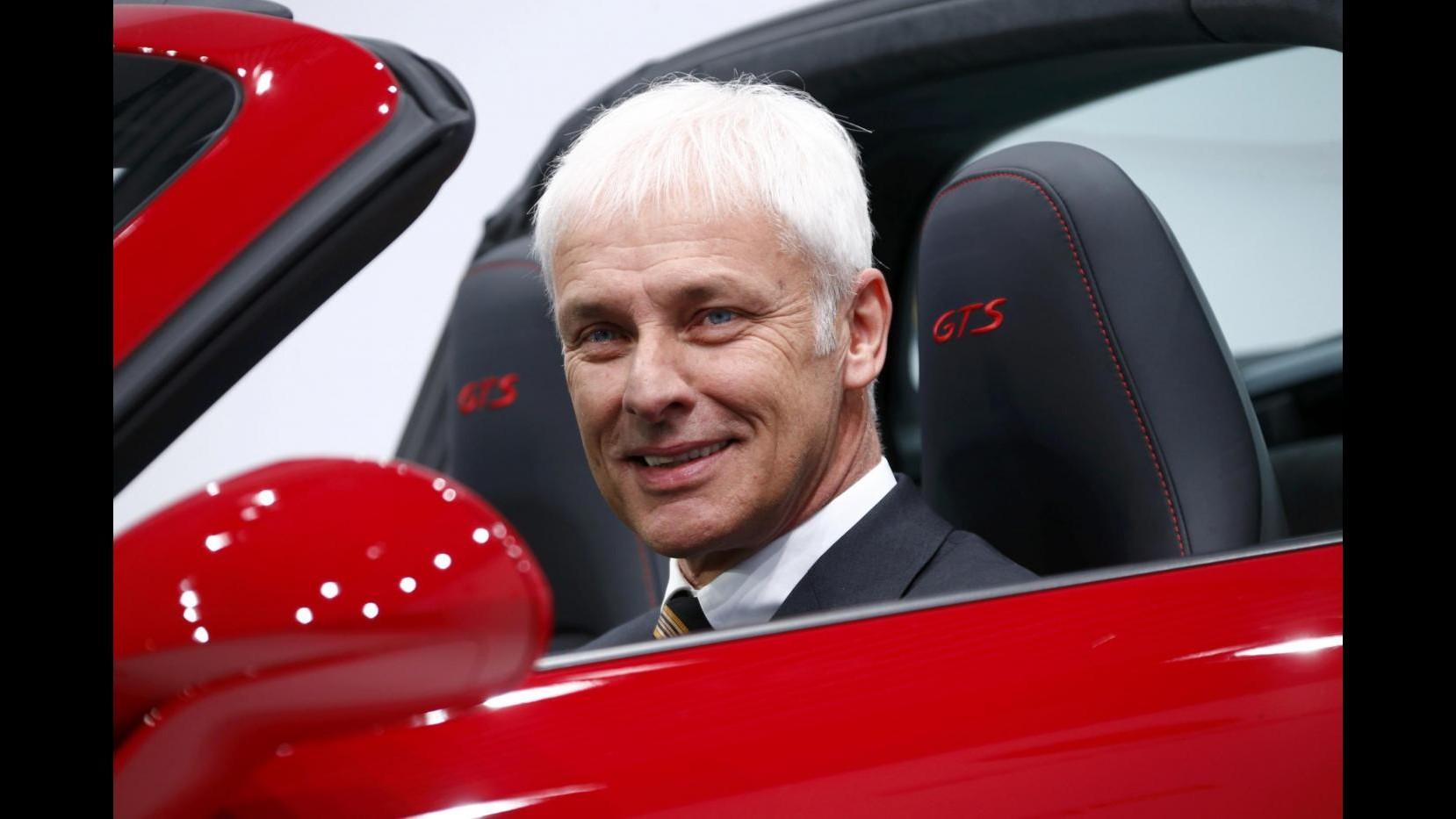 Volkswagen, chi è il nuovo ad Matthias Mueller