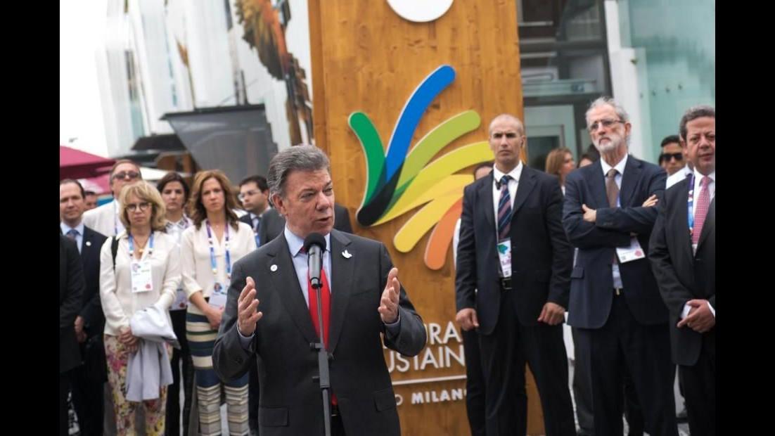 Expo, Santos: Padiglione Colombia è il nostro orgoglio