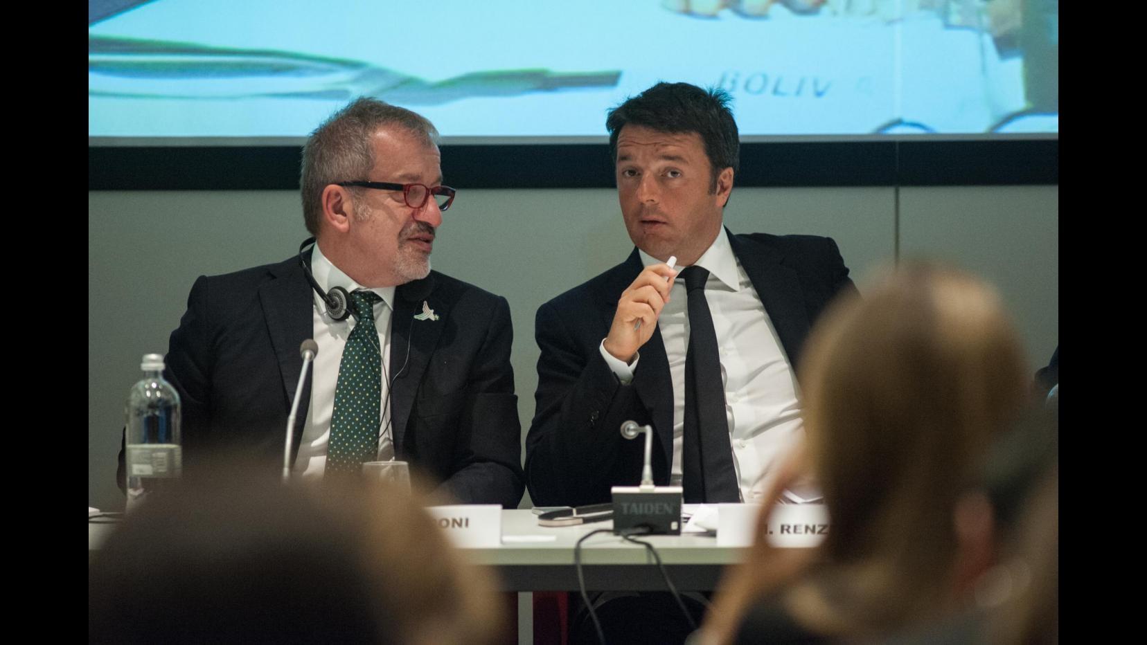 Renzi: Basta vivere di paure, lotta a corruzione deve essere senza quartiere