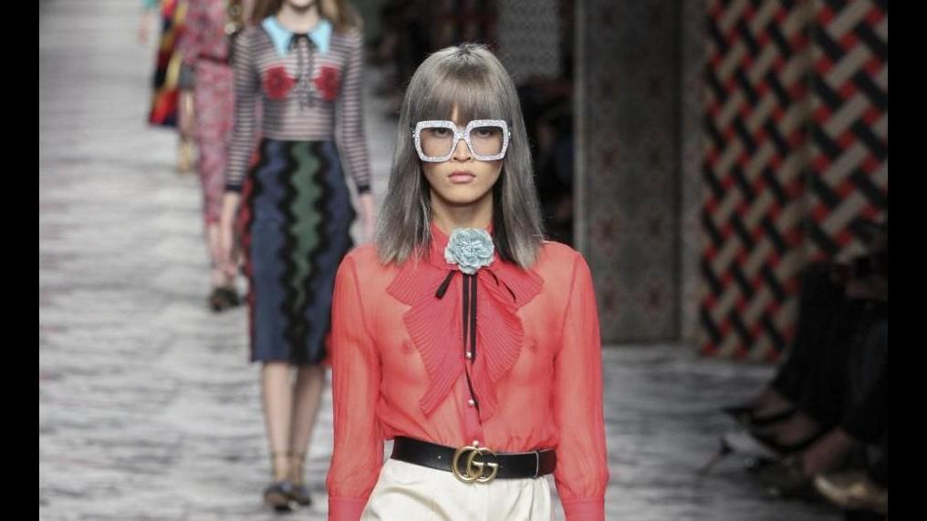 Moda, la donna di Gucci è delicata e iperfemminile