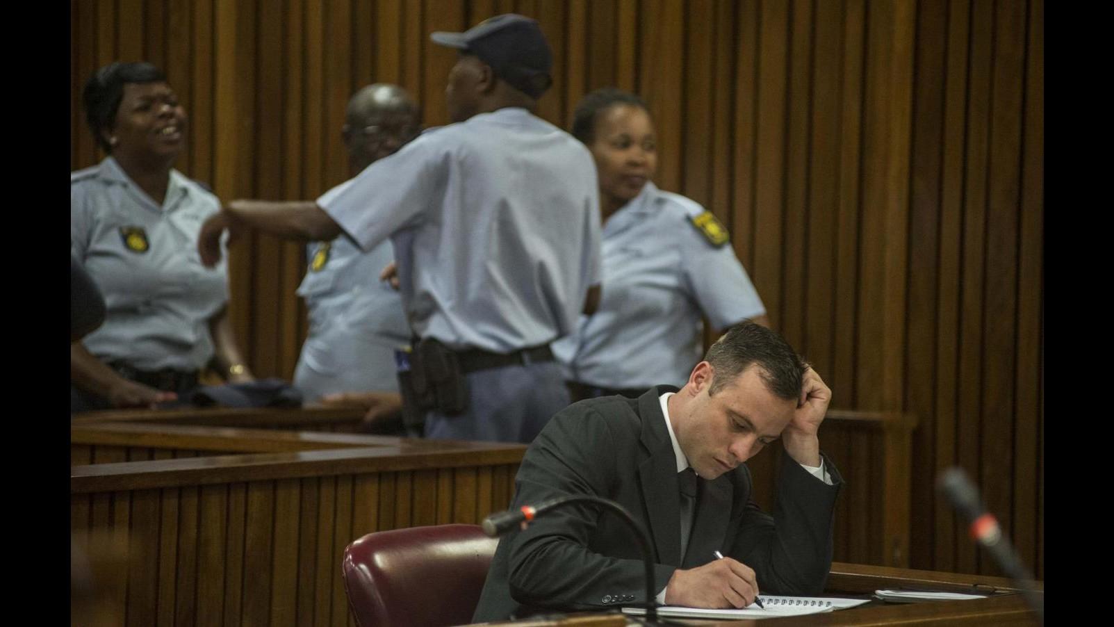 Processo Pistorius,  udienza di appello fissata per il prossimo 3 novembre