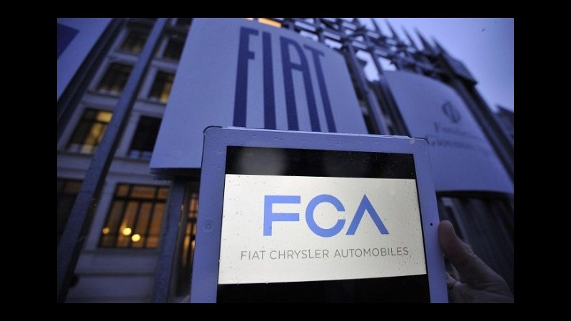 Fca paga in Borsa scotto vicenda Volkswagen,titolo in coda al Ftse Mib