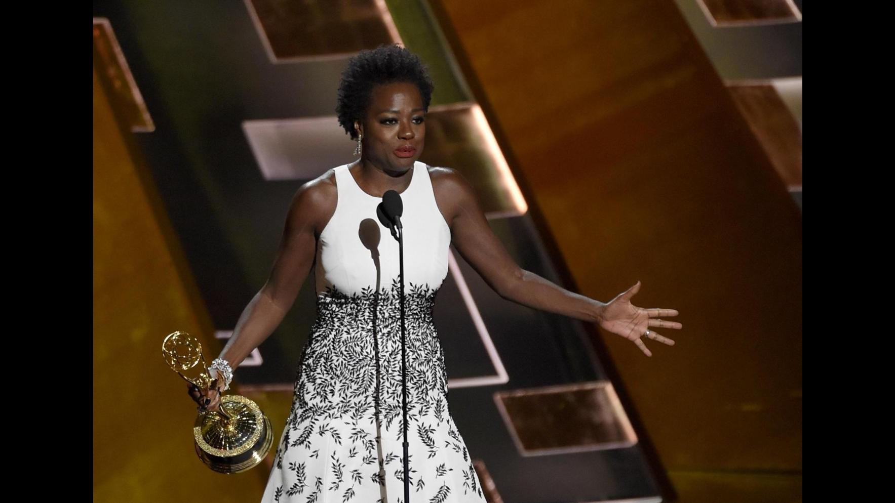 Emmy, trionfa 'Game of Thrones'. Vittoria per Viola Davis