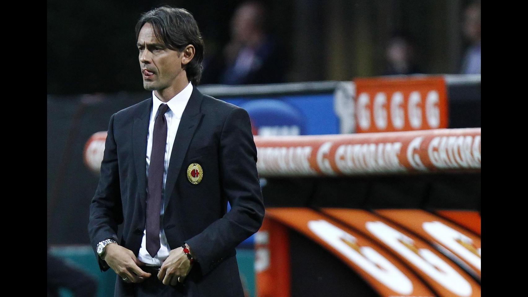 Il Milan silura Inzaghi: da tecnico promessa a flop