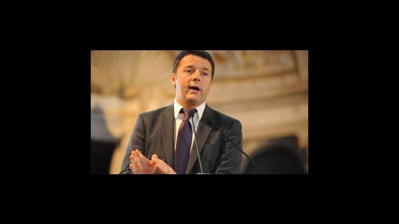 Renzi: Esenzione Imu prima casa solo per qualcuno? Sarebbe un autogol