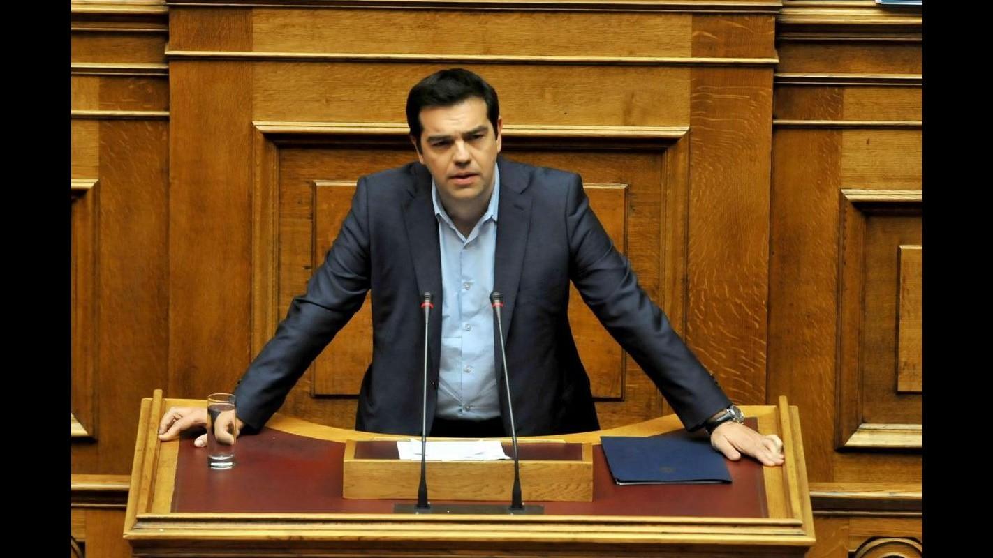 Grecia, stasera in Parlamento voto di fiducia per governo Tsipras