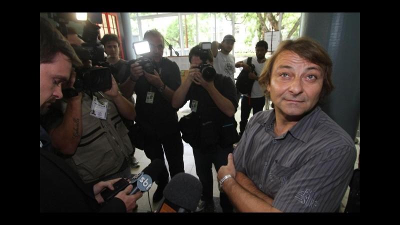 L'ex terrorista Cesare Battisti si è sposato ieri in Brasile