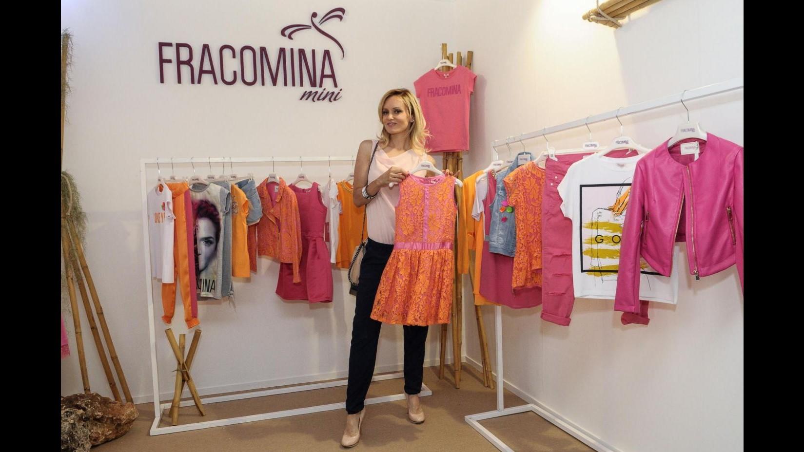 Justine Mattera al Pitti Bimbo: Mia estate fra Sardegna e sud Italia