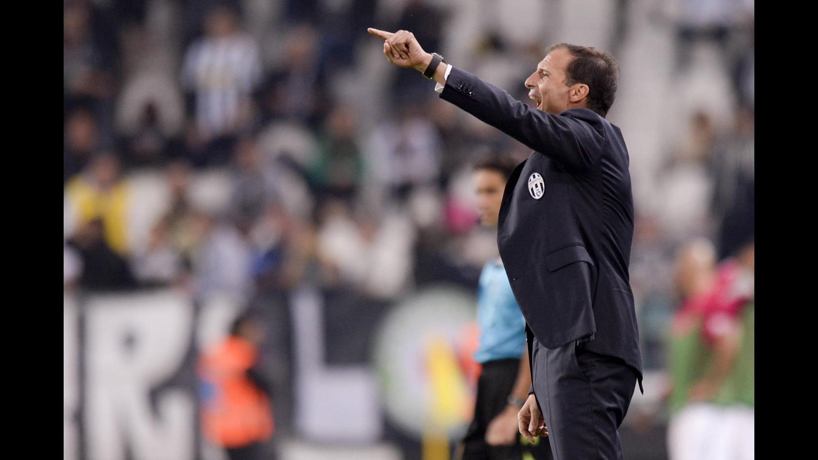 Allegri: Juve ha fatto una buona partita, Khedira ha grandi qualità