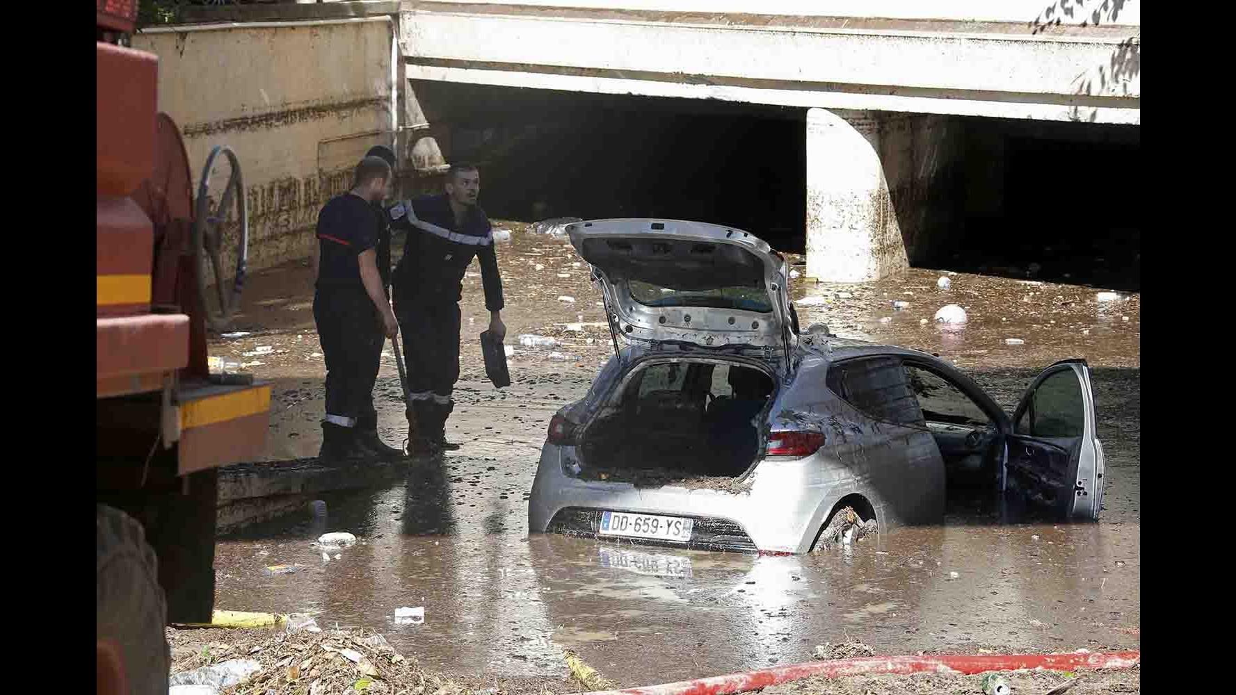 Inondazioni in Costa Azzurra: le vittime sono 17  Consolato di Nizza: Nessun italiano
