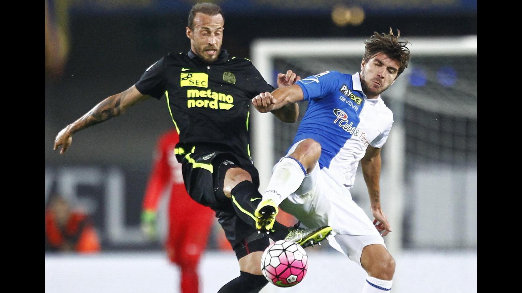 Serie A: Castro replica a Pisano, tra Chievo e Verona finisce 1-1