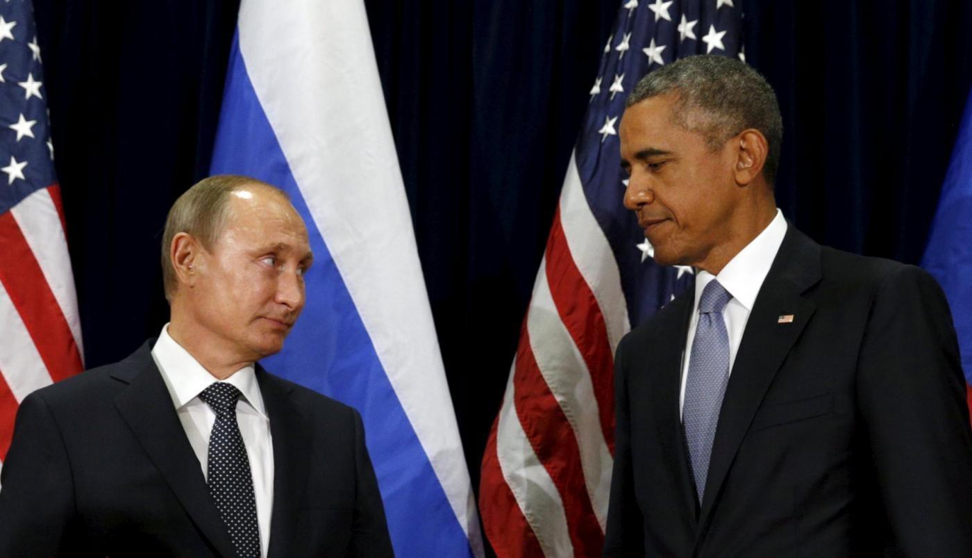 Siria, Obama: Raid porteranno Mosca in un pantano da cui sarà difficile uscire
