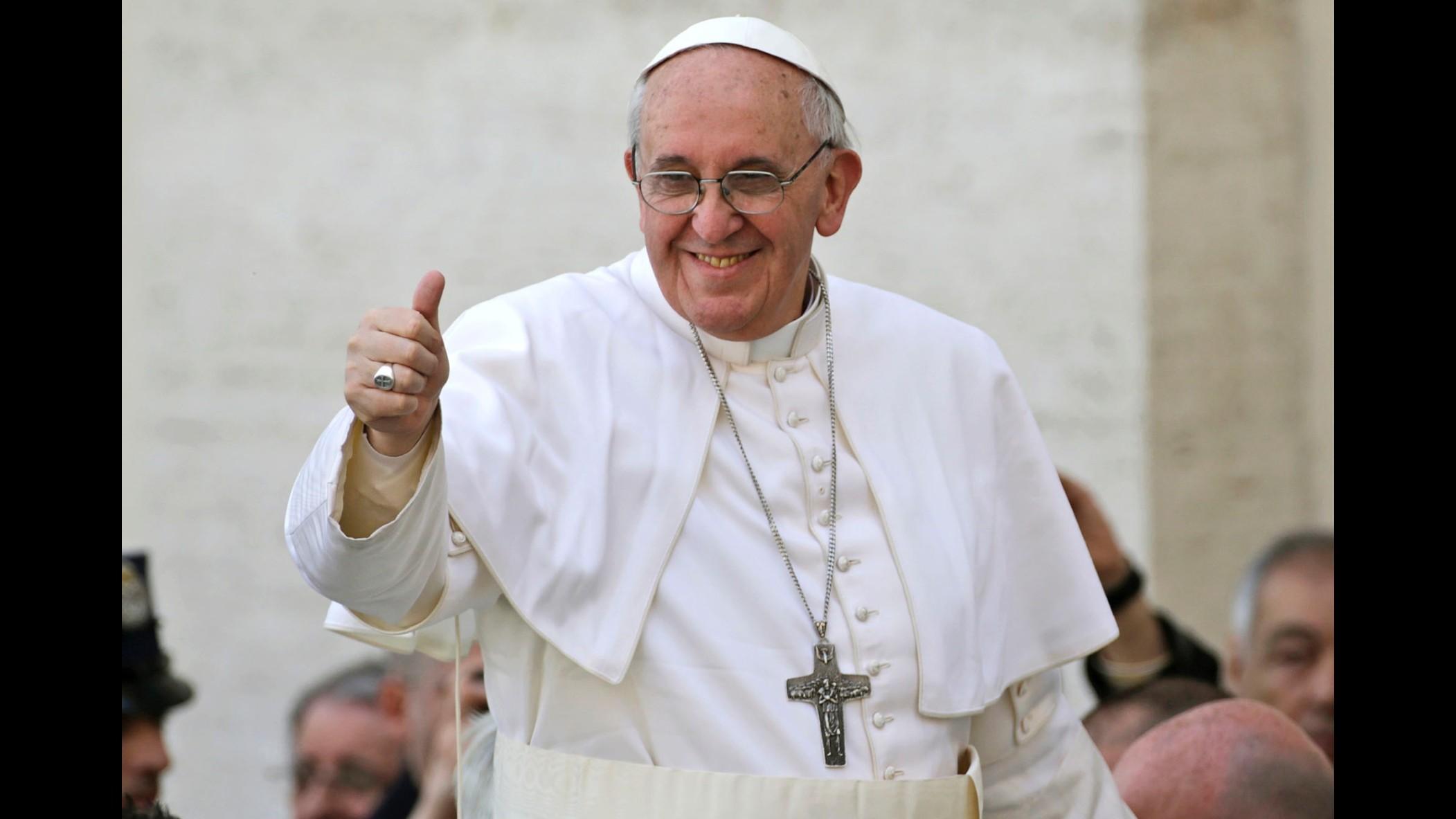 Papa Francesco dai Salesiani e spettacolo su Don Bosco