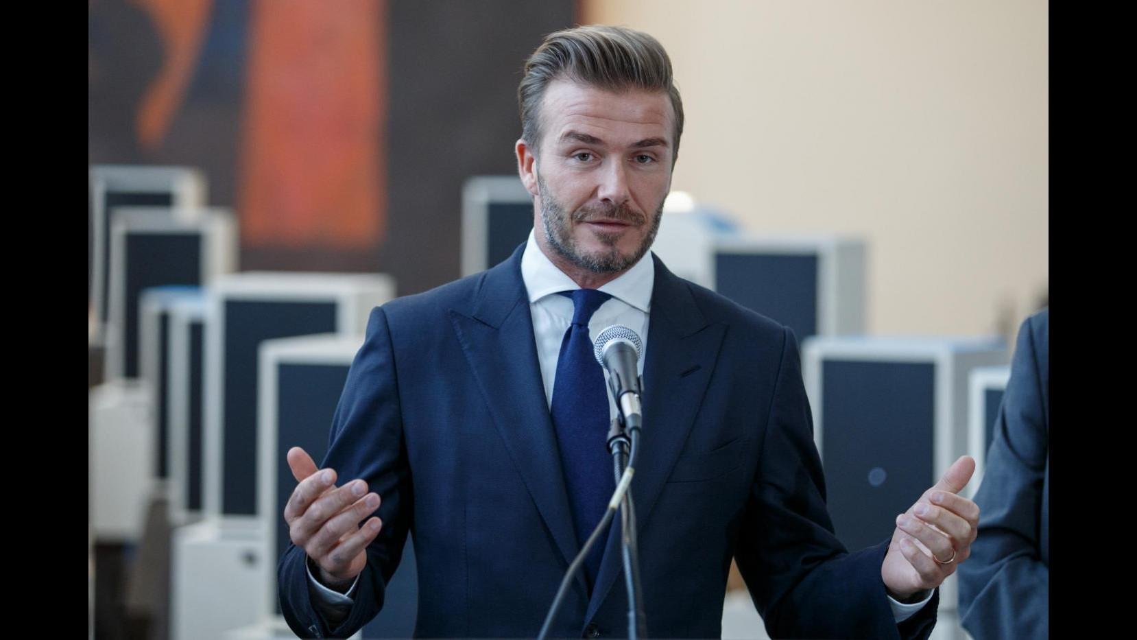 Gaffe di Beckham sul Milan: Vincerà la Champions League