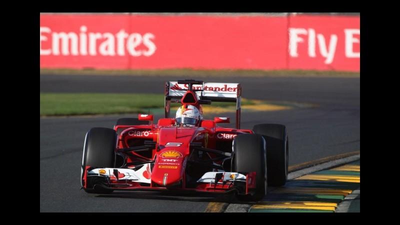 F1, Gp Austria: Vettel il più veloce nelle seconde libere