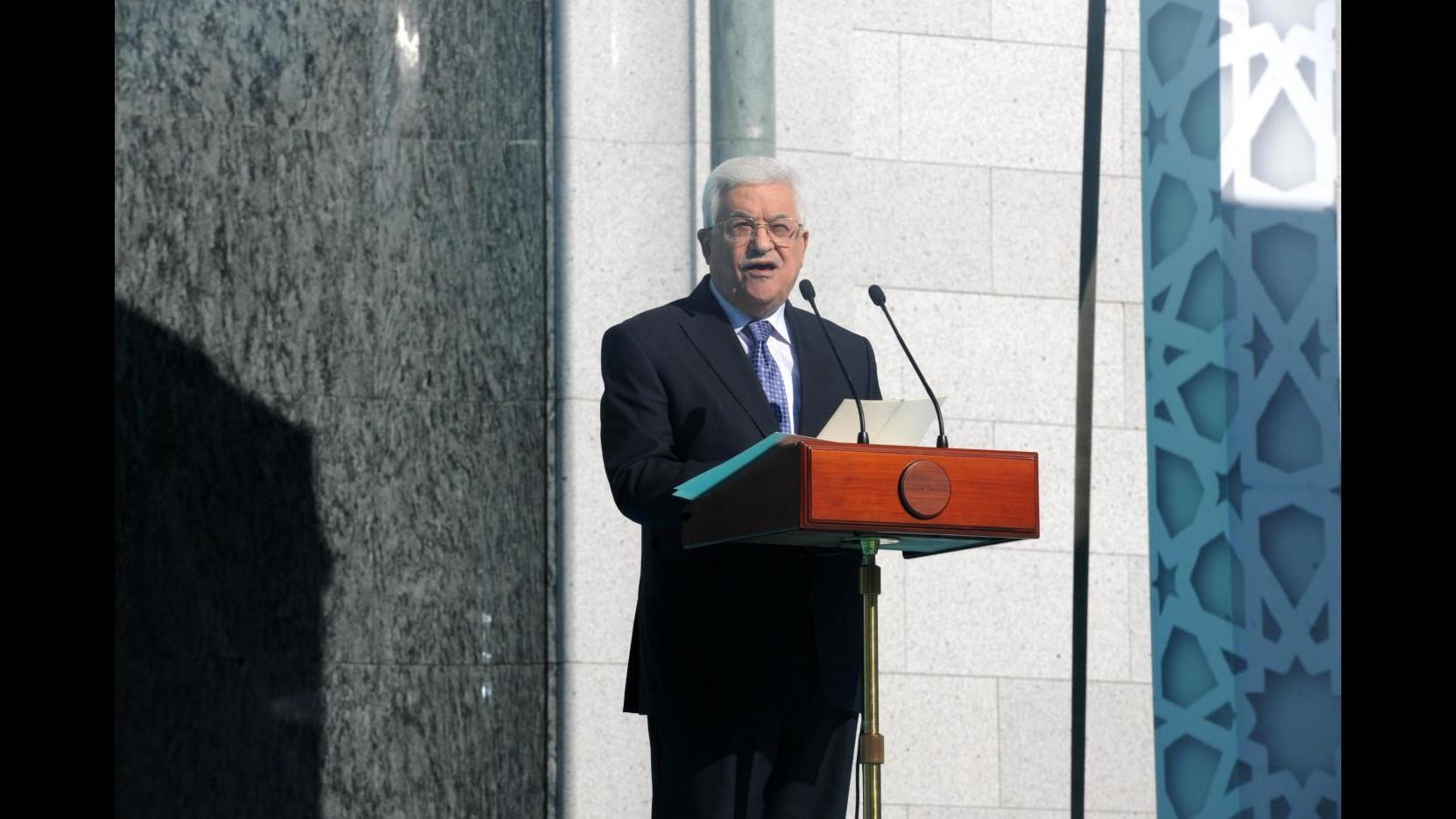 Onu, Abbas: Palestina non è più vincolata al rispetto degli accordi di Oslo