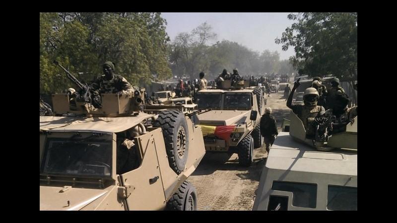 Ciad, bombardate basi di Boko Haram in Nigeria dopo gli attacchi di N'Djamena